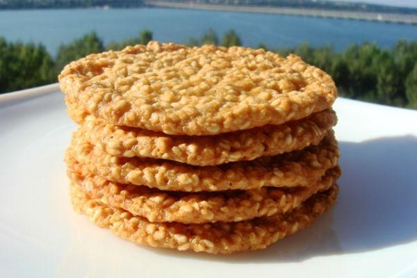 Кунжутное печенье 3