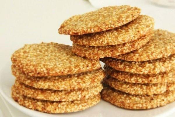 Кунжутное печенье 2