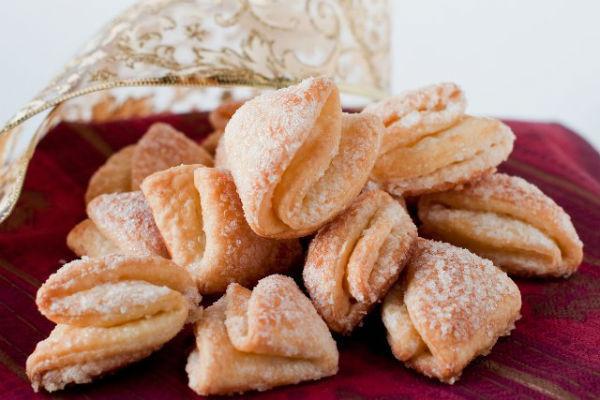 Печенье Гусиные лапки из творога 3