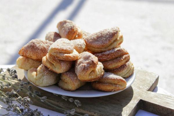 Печенье Гусиные лапки из творога 2