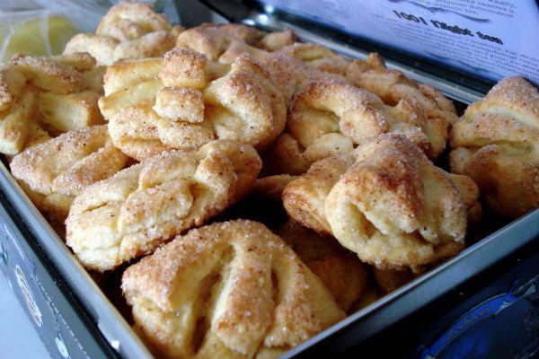 Печенье Гусиные лапки из творога 4