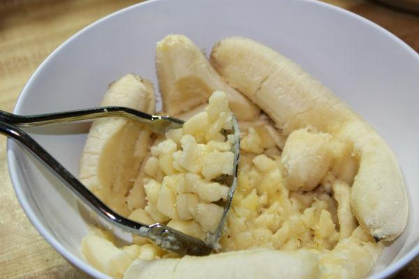 Печенье банановое 4