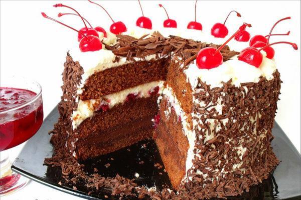 Шварцвальд торт рецепт