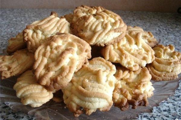 рецепт печенья тесто которого пропускают через мясорубку