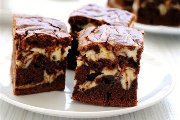 Шоколадно-творожный торт 3