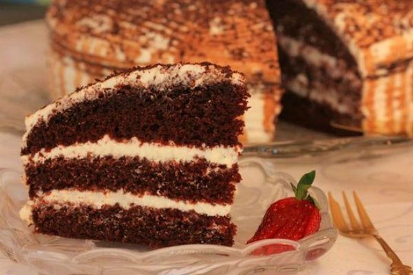 Шоколадный торт на кефире «Фантастика» 2