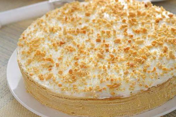 Сметанный торт рецепт с фото 4