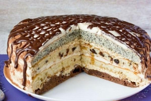 Сметанный торт рецепт с фото 2