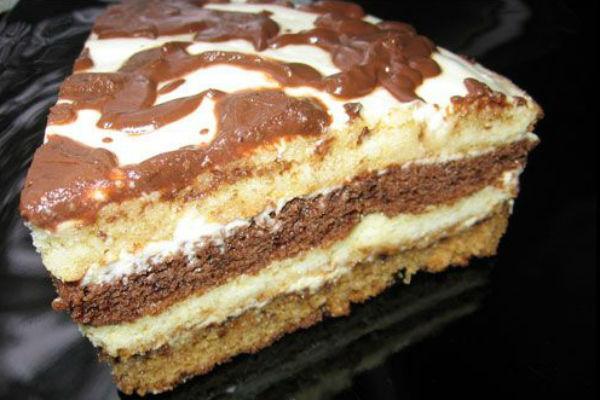 Сметанный торт рецепт с фото 3