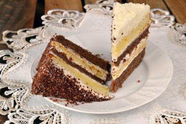 Торт « День и Ночь» 2