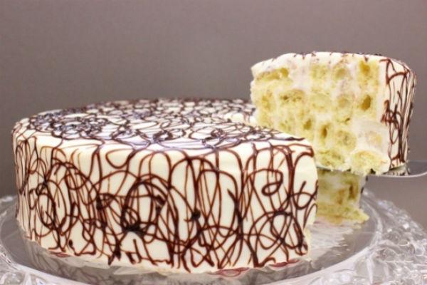 Торт Дамские пальчики 3