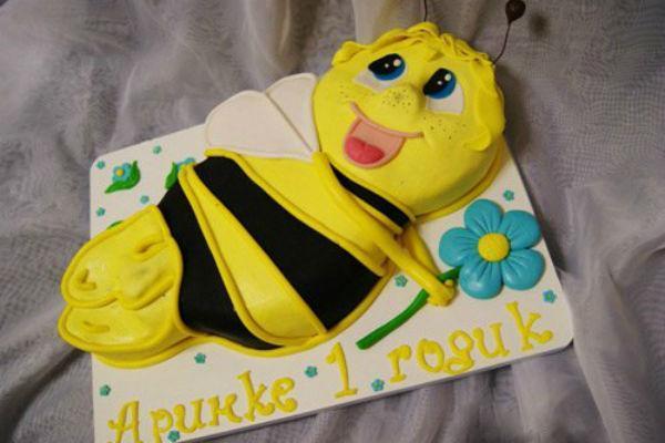 Торт «Майя пчелка» 3