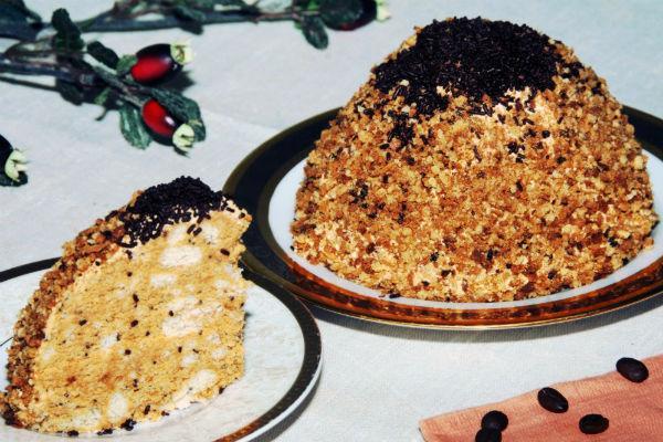 Торт муравьиная горка рецепт с медом