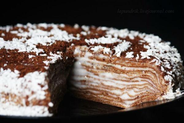 Торт «Негр в пене» 4