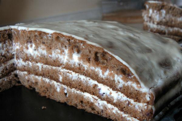 Торт «Негр в пене» 6