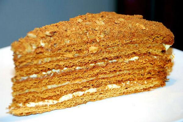 Торт Рыжик 3