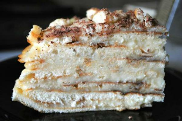 Торт Минутка на сковороде 3
