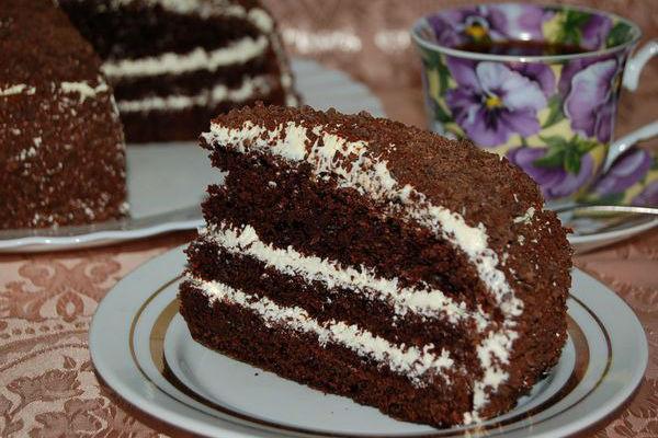 Торт Негритенок рецепт 2