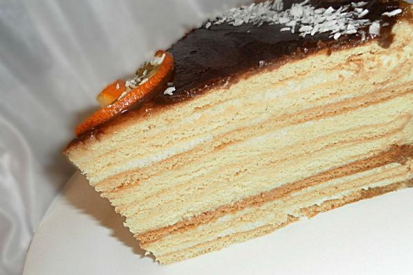 Торт Нежность 3