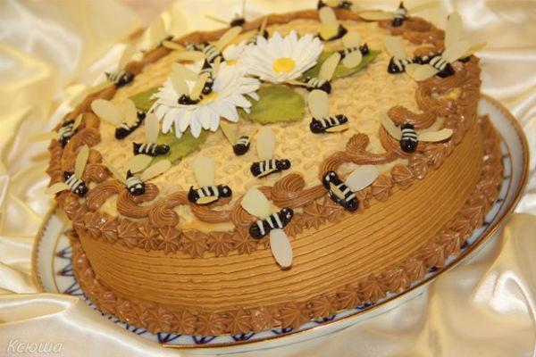 Торт Пчелка 3