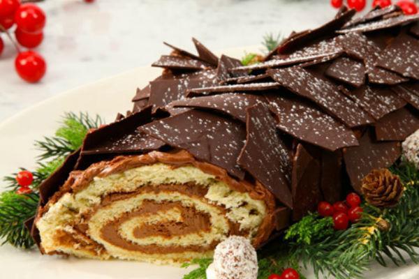 Торт Полено 2