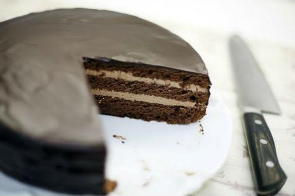 Торт Прага от Юлии Высоцкой 3