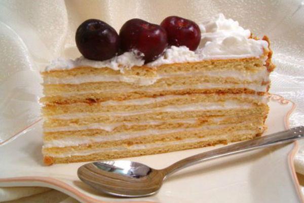 Торт Сметанник 5