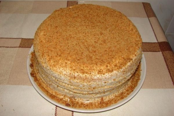 Торт Сметанник 2