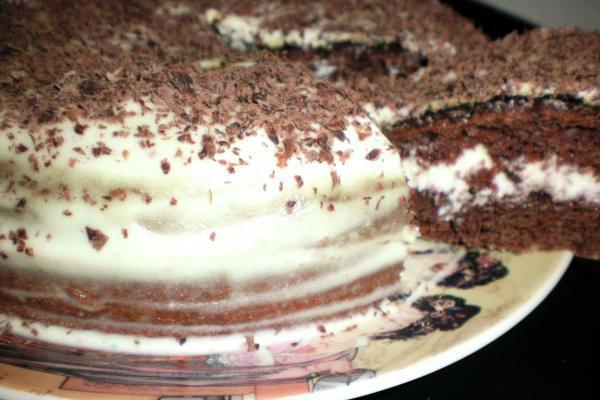 Торт Сметанник 4