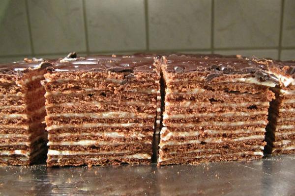 Торт Спартак: рецепт и фото на сайте Всё о десертах