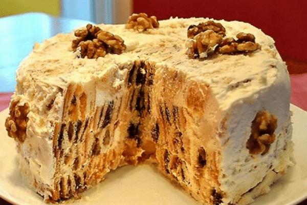 Торт «Трухлявый пень» 3