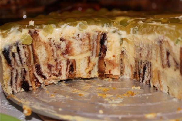 Торт «Трухлявый пень» 4