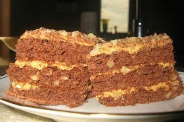 торт на сгущенном молоке рецепт с фото