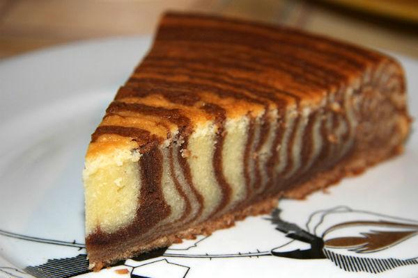 Торт Зебра рецепт и фото на сайте Всё о десертах