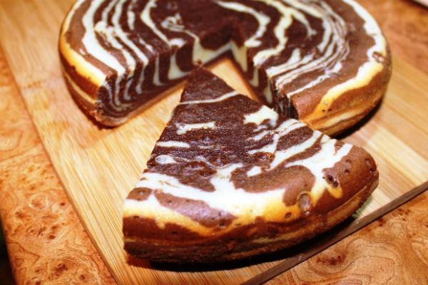 Торт Зебра рецепт 4