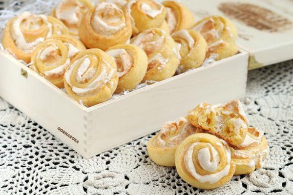 Творожное печенье Розочки 2