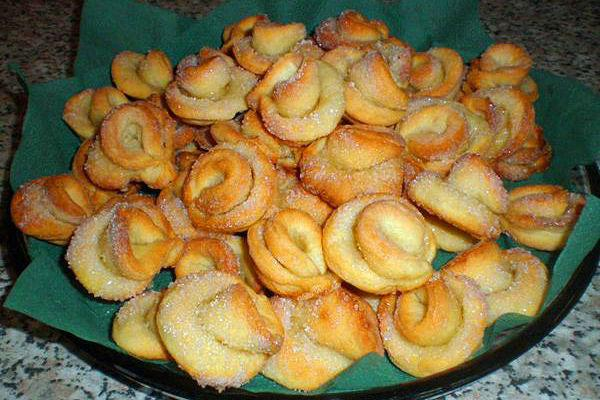 Творожное печенье Розочки 4