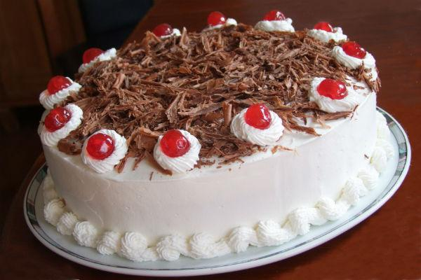 Вишневый торт 4