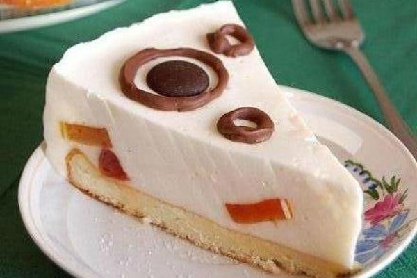 Желейный торт со сметаной 3