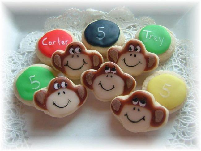 Детское новогоднее печенье.