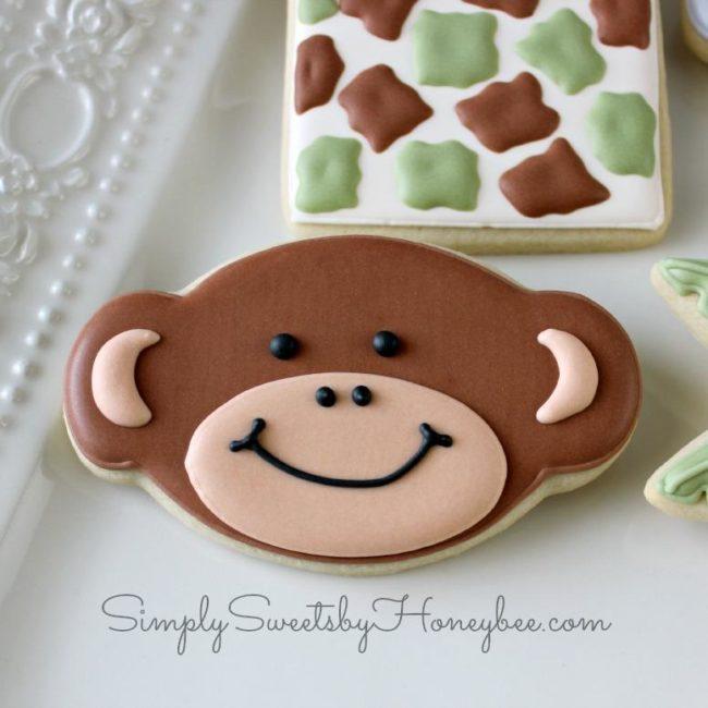 Веселая съедобная обезьянка.