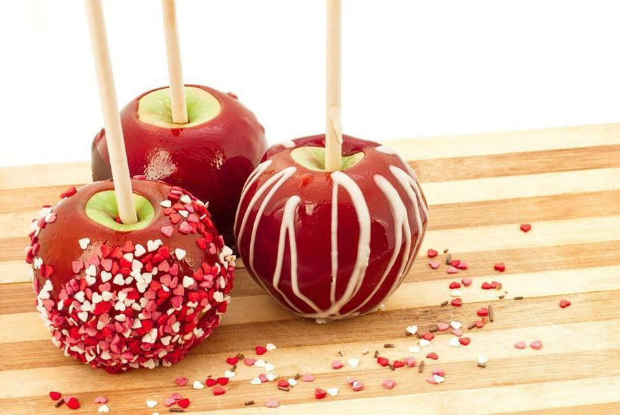 Сочетание яблок и карамели - прекрасно!