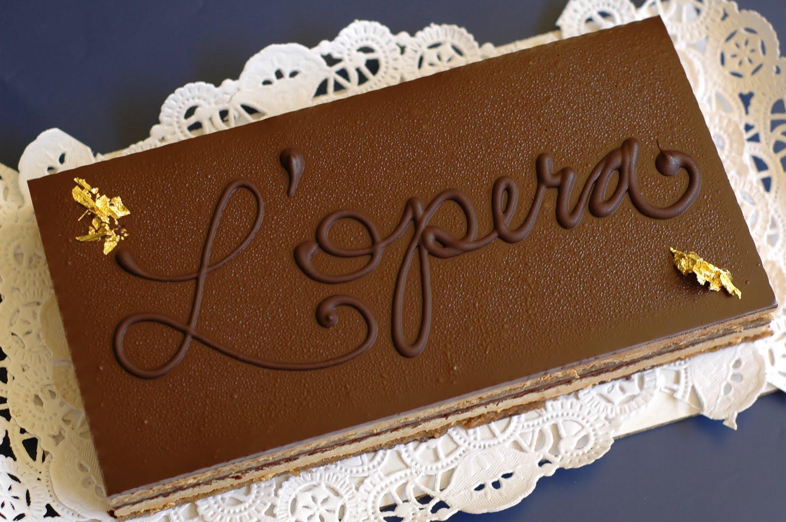 Десерт «Опера».