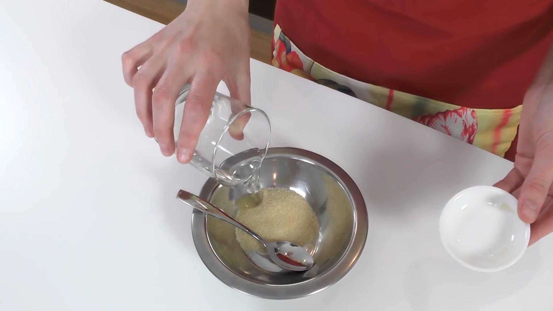 Рецепт - Белковый крем на желатине - шаг 1