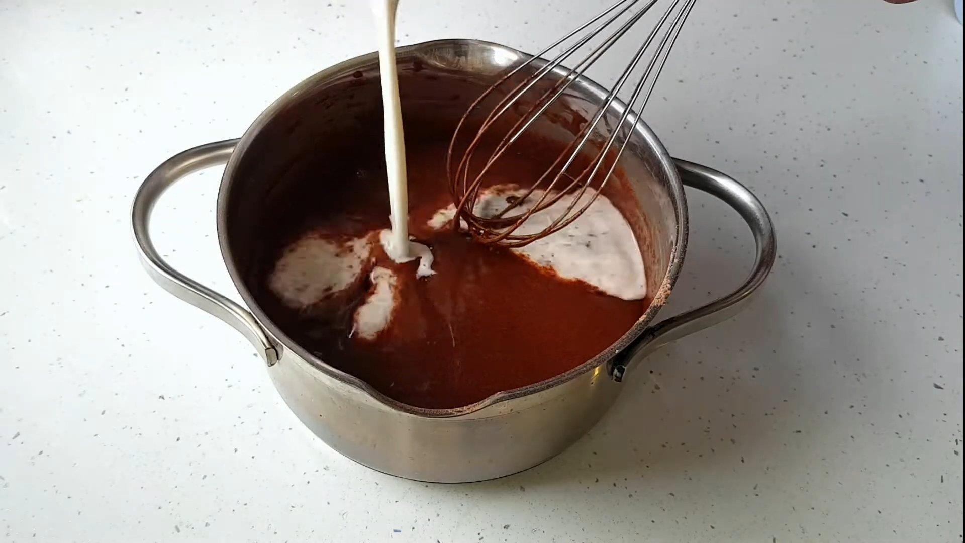 Рецепт - Шоколадный крем для эклеров - шаг 5-2