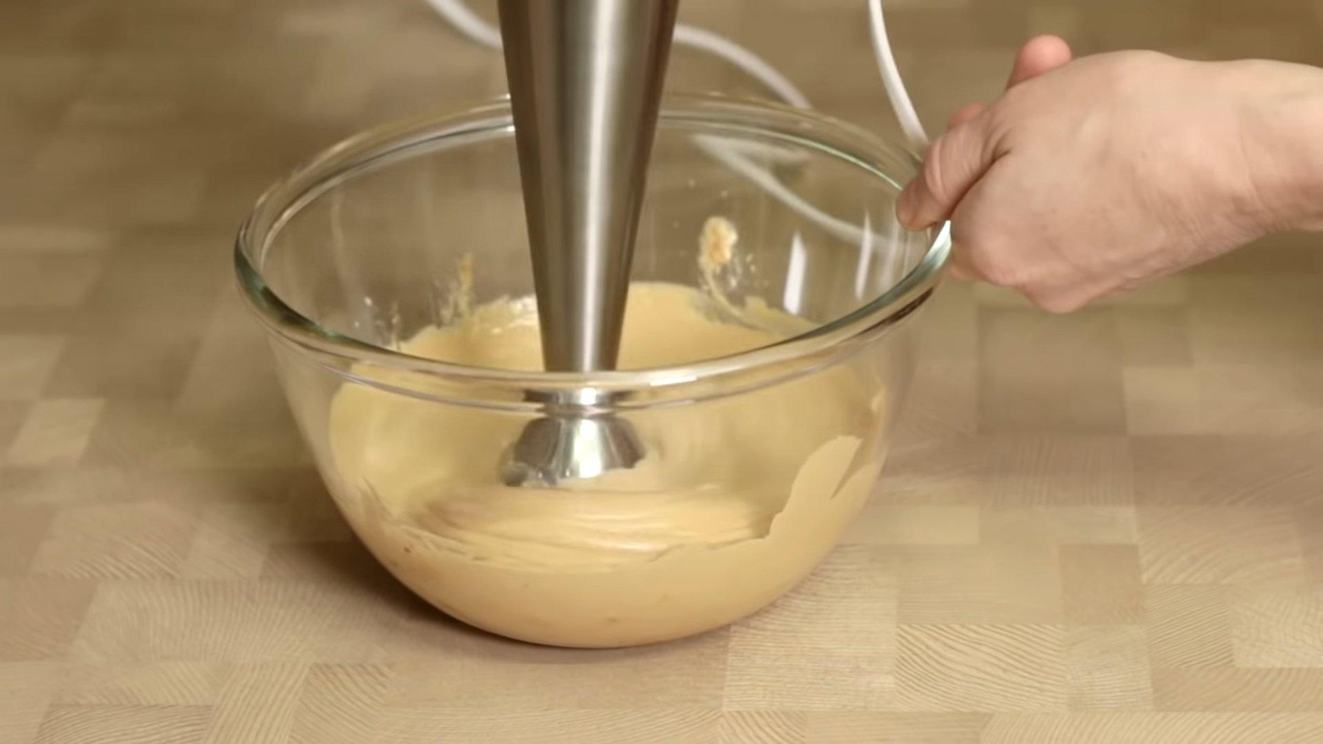 Рецепт - Творожный крем для «Наполеона» - шаг 3.1