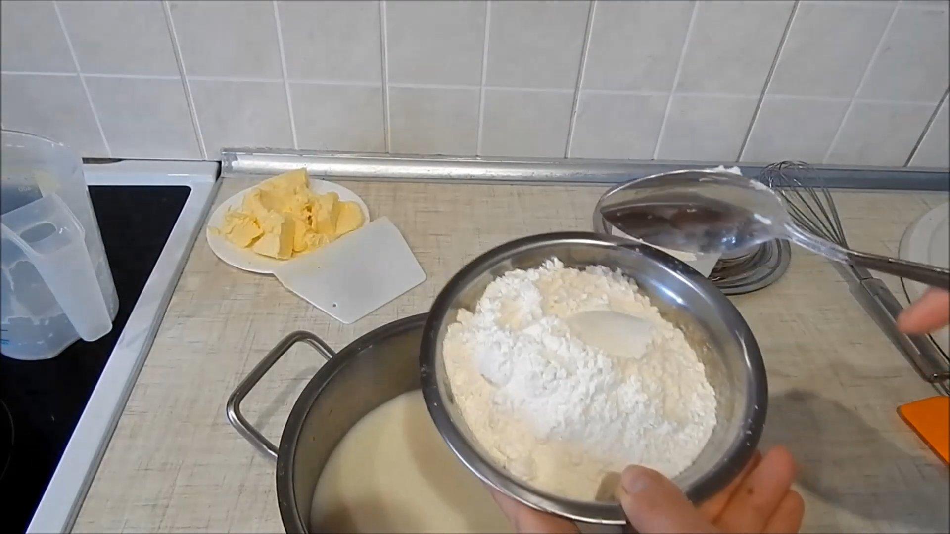 Рецепт - Заварной крем без яиц - шаг 3