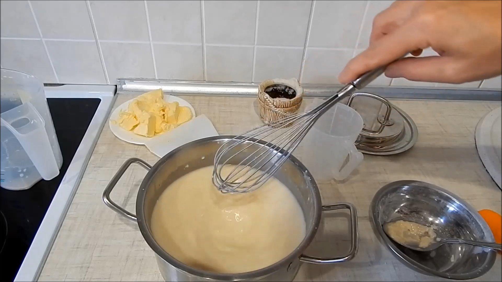 Рецепт - Заварной крем без яиц - шаг 4