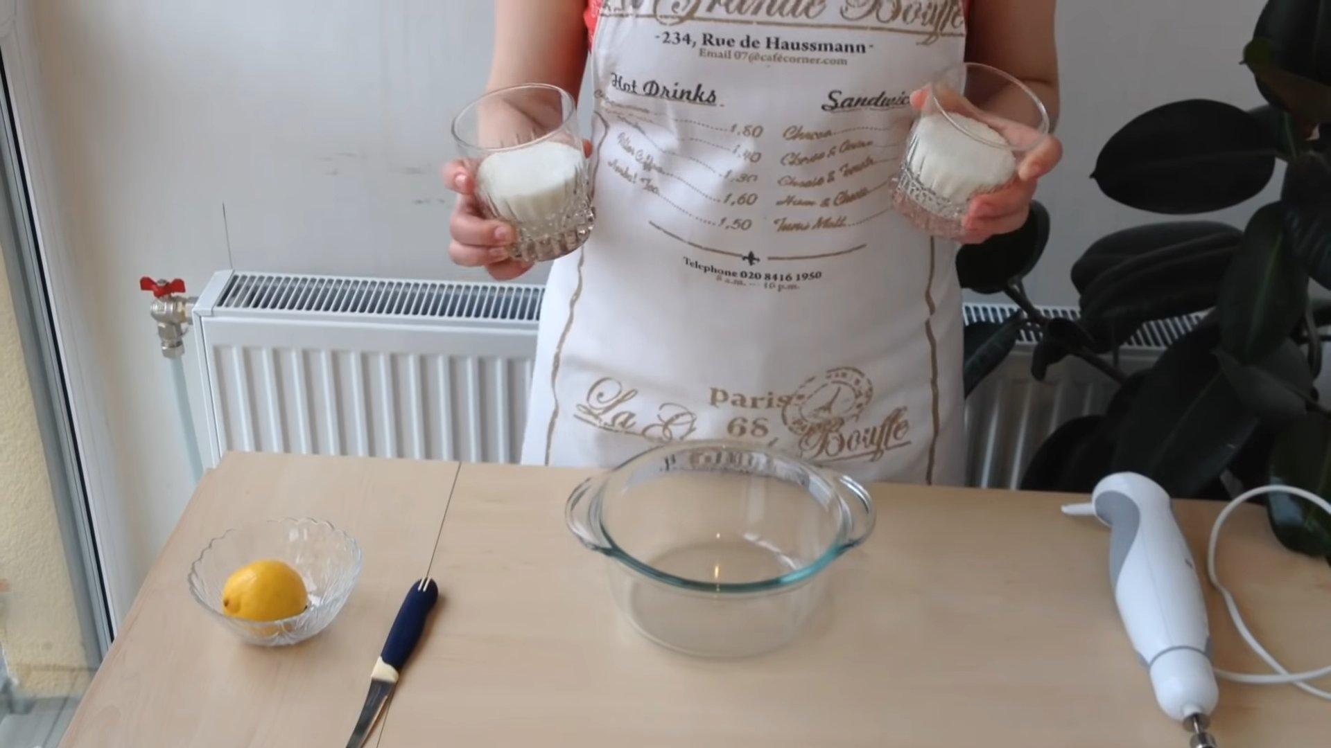 Рецепт - Белковый крем для торта - шаг 2