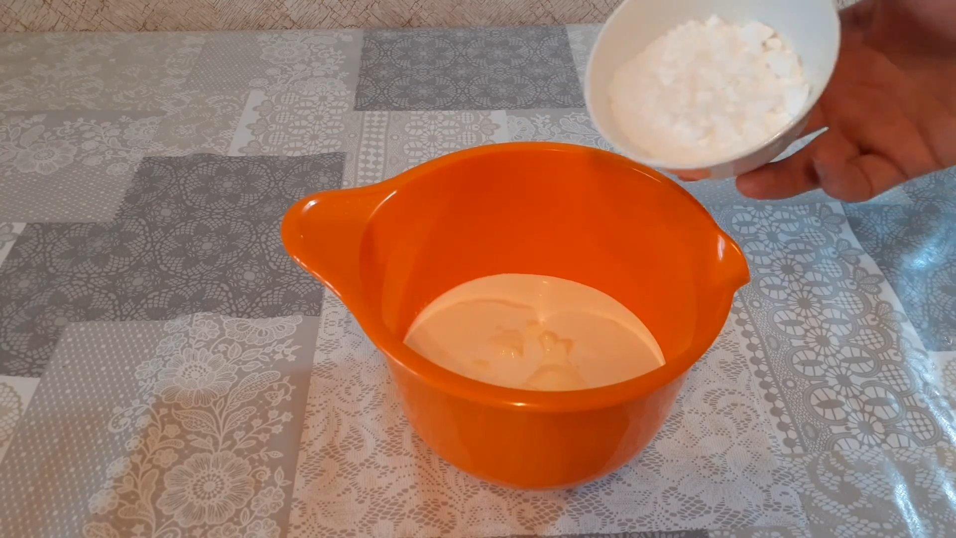 Рецепт - Сливочно-сметанный крем - шаг 3